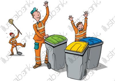 Calendrier Ordures Ménagères 2021 Passage de l'équipe de la collecte des ordures ménagères de la